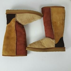 UGG classic tall multicolor boots size 7W